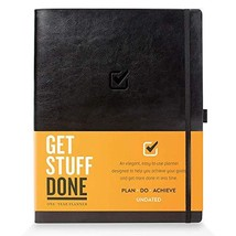 """1 Year Undated Daily Planner, 8.5"""" x 11"""" - Productivity Planner and - $50.31"""
