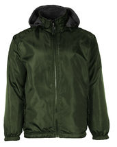LAX Men's Premium Water Resistant Security Reversible Jacket With Removable Hood image 13