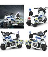 6V 3-WHEEL KIDS POLICE RIDE ON CAR - $121.54