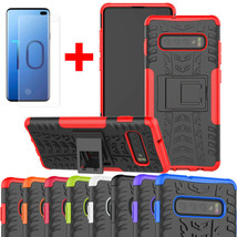For Samsung Galaxy S10E S10 Plus Shockproof Rugged Armor Case+Screen Pro... - $14.00