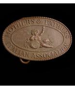 Antique Tiffany Belt Buckle - Sicily Cherubs - mothers fathers - Italian... - $385.00