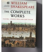 William Shakespeare, The Complete Works - compact edition - $7.50