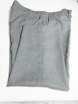 "Levis Action Slacks Vintage Mens Dress/Casual Pants 46 X L-26"" Gray Dacron Short - $33.00"