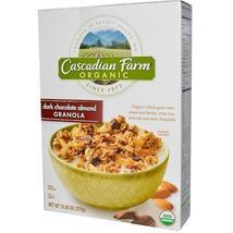 Cascadian Farm Dark Chocolate Almond Granola (6x13.25oz ) - $47.36