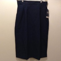 NEW CREST Women's Navy Blue Skirt Sz 10