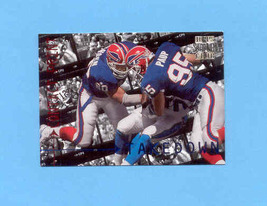 1996 Stadium Club Paup/Moore Contract Prints Insert  - $1.25