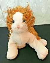 "GANZ Plush Striped Alley Cat Webkinz HM042  No Code Plush Only 14"" Nose ... - $11.39"