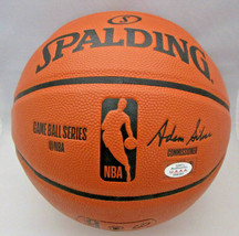 STEPHEN CURRY / GOLDEN STATE WARRIORS / AUTOGRAPHED FULL SIZE NBA BASKETBALL COA image 4