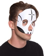New Day of the Dead Face Mask Mens Costume Male - $5.96