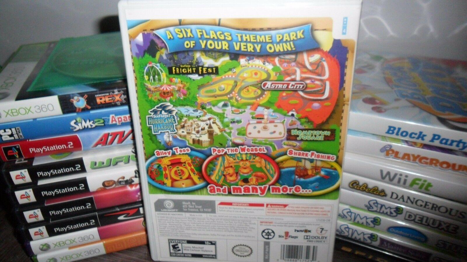 Six Flags Fun Park (Nintendo Wii, 2009)