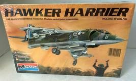 Monogram 1:48 Scale Hawker Harrier Plastic Model Kit NIB Vintage USA 1981 - $24.75