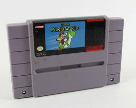 Super Mario World (Nintendo SNES, 1992) - Cartridge Only ! - $18.32