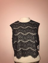 New Womens Marc New York, Crop Top, Black, Size 12 - $9.49