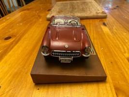 1957 Chevy Corvette Roadster 1:24 Scale Diecast Metal Model Car image 2