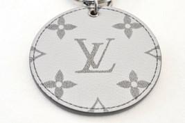 LOUIS VUITTON Monogram Silver Porte Cles Bag Charm MP1985 LV Auth yy446 image 2