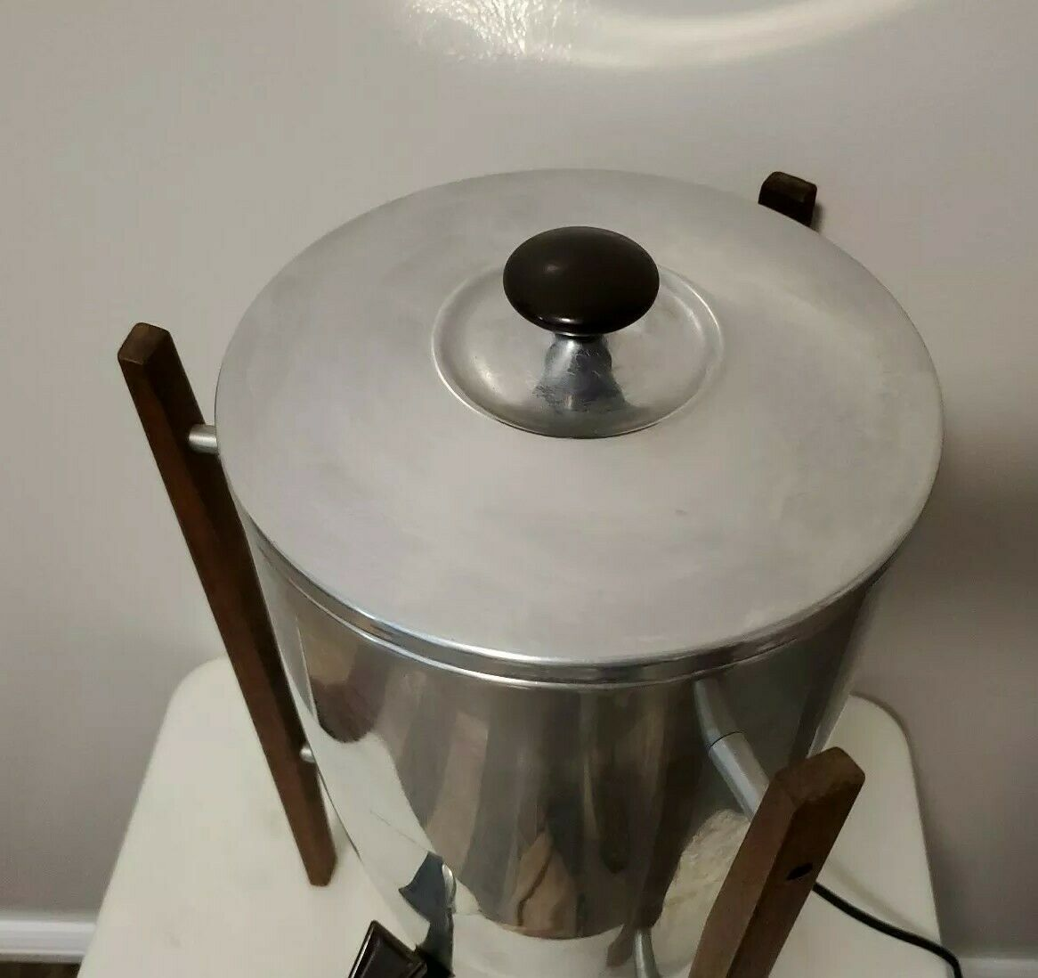 Mid-Century Modern Penncrest Stainless Steel 40-Cup Electric Coffee Percolator