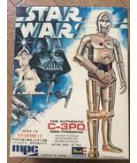 1977 MPC Revell Takara Star Wars C3PO 1/8 scale Japanese Plastic Model Kit  - $50.49