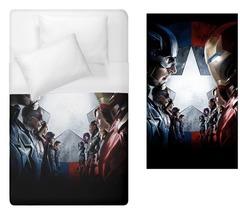 avengers iron man captain america black widow war machine falcon Duvet C... - $70.00+