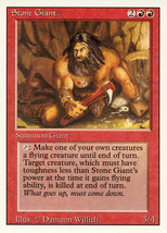 Magic: The Gathering 3rd Edition - Stone Giant - $0.25