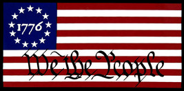 Betsy Ross 1776 We The People Vinyl Decal Bumper Sticker - $5.55