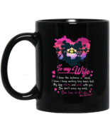 Mickey and Minnie Mouse To My Wife BM11OZ 11 oz. Black Mug - $17.50
