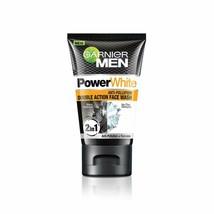 Garnier Men Power White Anti-Pollution Double Action Face Wash 100gm FS - $11.03