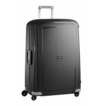 Samsonite S'Cure Hardside Checked Luggage with Spinner Wheels, 30 Inch, Black - $220.04
