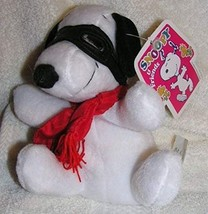 Peanuts Plush 6 Snoopy Flying Ace Bean Bag Doll - $13.49