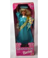 Mattel BARBIE Girls Doll NIB Graduation Class 1998 Turquoise Long Dress ... - $18.99