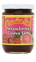 Hawaiian Sun Strawberry Guava Jam 10oz  - $9.99