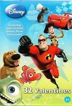 Disney Pixar Valentines (32 in 8 Styles) - $1.49