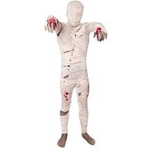 Mummy Kids Morphsuit Costume - size Small 3'-3'5 (91cm-104 cm) - $52.77