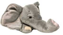 "Russ Animal Junction ELEPHANT Plush Gray Pink Stuffed Animal 15"" Soft Toy - $24.99"