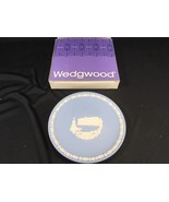 Vintage Wedgwood Jasper Plate Buckingham Palace With Box Christmas 1979 - $24.99