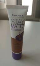 Rimmel London Stay Matte Liquid Mousse Foundation, 502 Warm Caramel New - $8.77