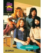 Led Zeppelin trading Card (Musicians) 1991 Proset Musicards Super Stars #24 - $5.00