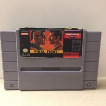 Final Fight (Super Nintendo Entertainment System, 1991) Game Only Free Shipping - $18.37