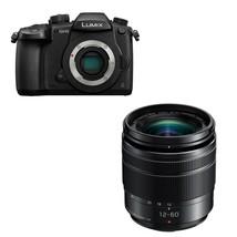 Panasonic GH5 Digital Camera Black + 12-60mm F3.5-5.6 Asph O.I.S Lens Black - $1,964.90