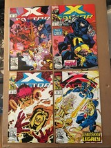 X-Factor 80 81 82 83 1986 Marvel Comic Book Lot VF/VF Condition X-MEN - $4.54