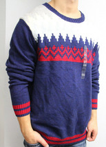 *NEW Tommy Hilfiger Multi Novelty Table Cotton Wool Sweater XXL XXLarge $129 D&D - $30.17
