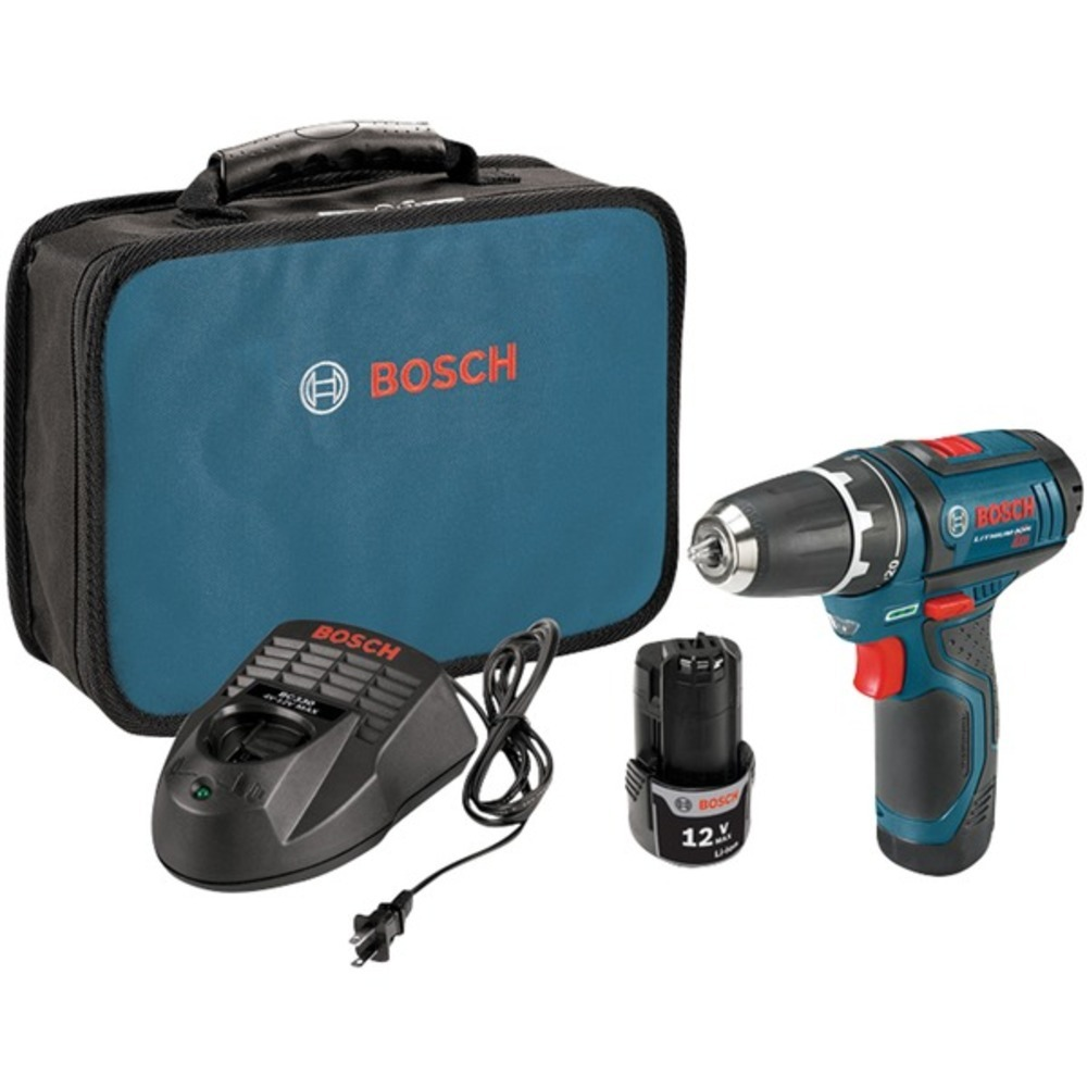 Bosch PS31-2A 12-Volt MAX 3/8 Cordless Drill/Driver Kit