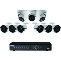 Lorex 16-channel 4k 3tb Nvr With 9 2k Poe Cameras LORLNK7163C6D3 - $1,177.17