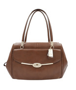Coach Madison Madeline 25166 Brown Leather Ladies Satchel - $249.00