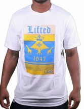 LRG Men's White or Black Lifted Ice Cold Mexican Beer Crown T-Shirt Small NWT image 4