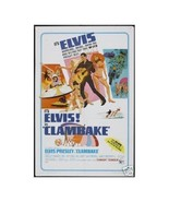 Clambake Elvis Presley Wall Poster Art 12x18 Free Shipping - $12.50