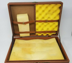 Vintage Houghton Mifflin Company Science Device Carry Case with Padding - $17.05