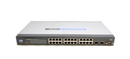 Linksys SRW2024 24 Port Gigabit Switch with WebView Bin: 2 - $58.49