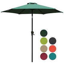 PATIORAMA 7.5 Feet Outdoor Patio Umbrella with Push-Button Tilt and Cran... - $880,58 MXN