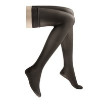 Jobst 20-30mmHg Ultra Sheer Thigh High Black Medium - 122251 - $93.12