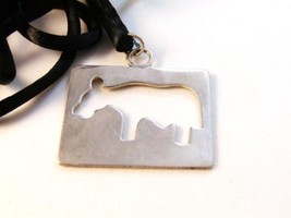 Blaezy Sterling Silver Milk Cow Necklace - $32.66